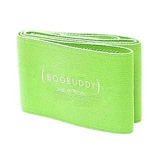Booband Boobuddy Adjustable Breast Support Band Sports Bra Alternative, Green