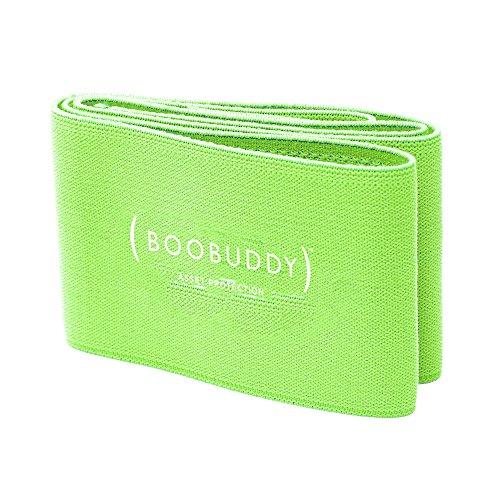 Booband Boobuddy Verstellbares Brustkompressionsband/Brust Unterstützung Band ALS Alternative zum Sport-BH, Grün