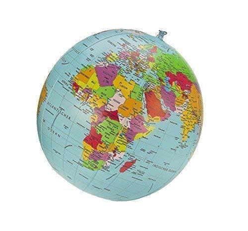 Politischer Globus Wasserball, deutsch, 40cm