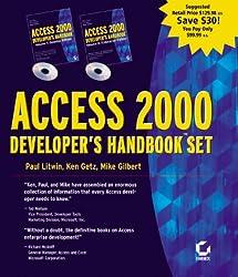 Access 2000 Developer's Handbook: v. 1 & 2 (Handbook Set)