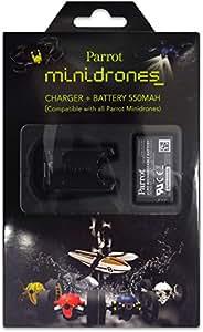 Parrot Minidrones Evolution Original Zubehör Akku mit Ladegerät