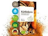 Bio Kürbiskern Kapseln hochdosiert - biozertifiziert - 500 mg Kürbiskernpulver...