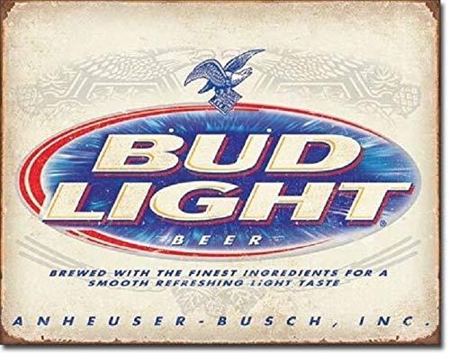 user Busch Budweiser Advertising Wall Decor Metal Tin Sign ()