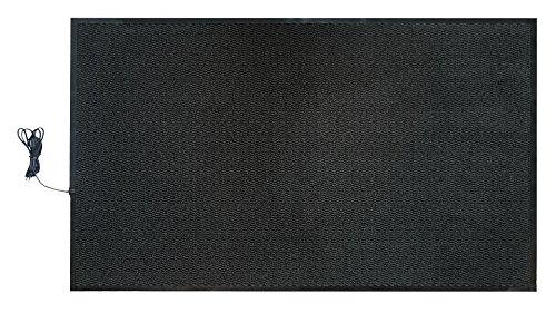 INROT Heiz Systeme 70128 INROT wasserdichte Teppichheizmatte 90x150cm, 400 Watt - Entflammbar Carbon X-schwer