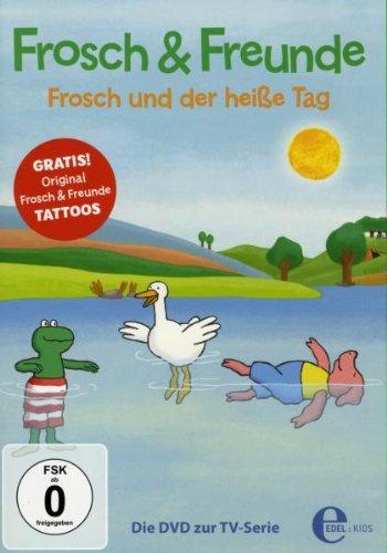 Frosch und der heiße Tag
