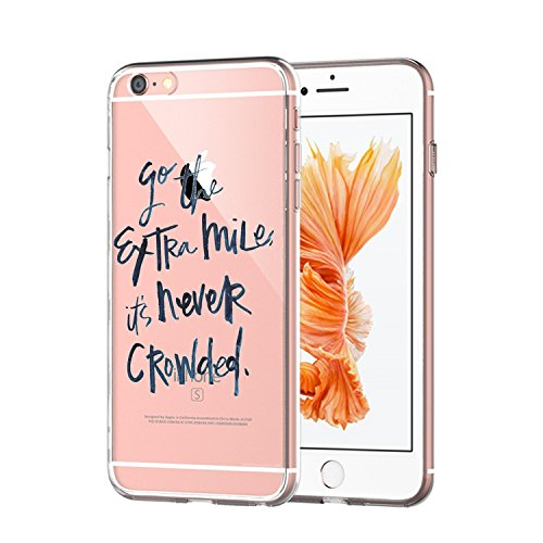 TPU Gel Silicone Protettivo Skin Custodia Protettiva Shell Case Cover Per Apple iPhone 6 6S - Creativo (6) 2