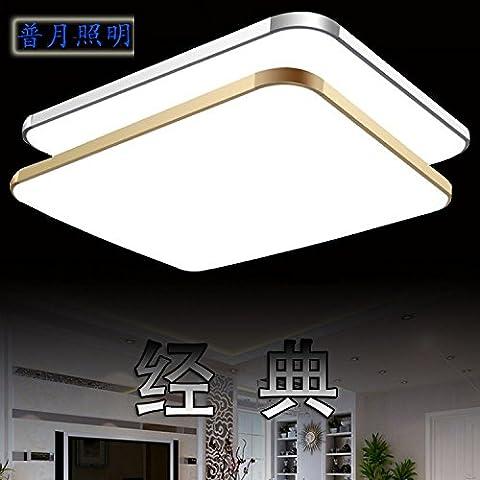 Quietness @ Loft Nordic lampada da soffitto di design contemporaneo di personalità creative lampade per la camera da letto per bambini sala da pranzo Soggiorno magazzino 30*30cm15W confine d'oro,