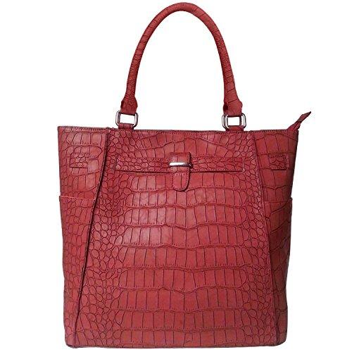 cocodrilo-faux-fash-textura-doble-techo-bolso-manija-asas-estructurado-de-color-rojo-un-tamano