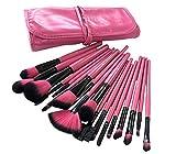 #8: Puna Store 18 Piece Makeup brush Set (Pink)