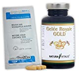 Natura Vitalis Gelée Royale GOLD - 180 Kapseln - 76g + Coolike Wellnesstuch