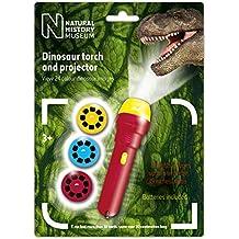 The Natural History Museum - Linterna con proyector de imágenes de dinosaurios