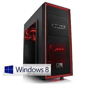 CSL Speed 4765W8 inkl. Windows 8.1 - Intel Core i7-4790 4x 3600MHz, 16GB RAM, 120GB SSD, 1000GB HDD, GeForce GTX 960, DVD, USB 3.0