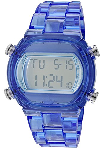 ADIDAS BLUE CANDY DIGITAL HOMME & FEMME 43MM CHRONOGRAPHE DATE MONTRE ADH6507
