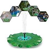 Pompe solaire à étang avec monocristallin 7V 1.4W Pompes de piscine Panneau solaire pour l'étang de jardin ou de fontaine avec la belle feuille de lotus