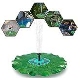 Keynice fontana da stagno / Fontana Lotus ad Energia solare / Foglia di loto galleggiante Massima altezza della Fontana 72 cm (fontana di loto)