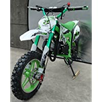 Mini Pitbike con motor de 49cc de 2 tiempos, XTM TEAM cross. Mini dirt