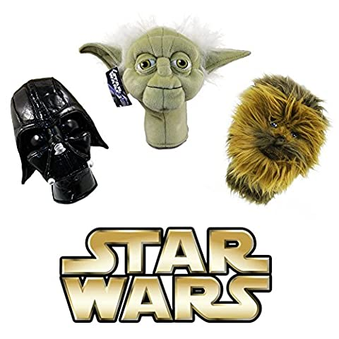 OFFICIAL STAR WARS GOLF PUTTER, HYBRID OR RESCUE WOOD HEADCOVER. CHEWBACCA.