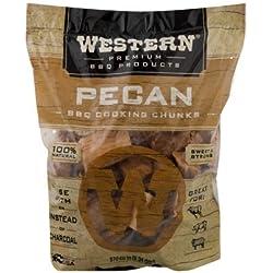 Western BBQ Holz-Stücke–Amerikanische Harthölzer–Hickory, Mesquite und Pekannuss