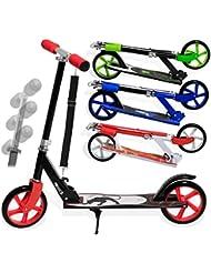 Kesser® Scooter Roller Cityroller Kinderroller Tretroller Kickroller Kickscooter, Kinder 205mm klappbar ABEC7 Kugellagern Design