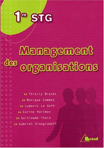 Management des organisations 1E STG