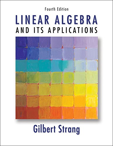 Strang, S:  Linear Algebra and Its Applications