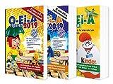 Das O-Ei-A 3er Bundle 2019 - O-Ei-A Figuren, O-Ei-A Spielzeug und O-Ei-A Spezial im 3er-Pack mit rund 9,00 € Preisvort
