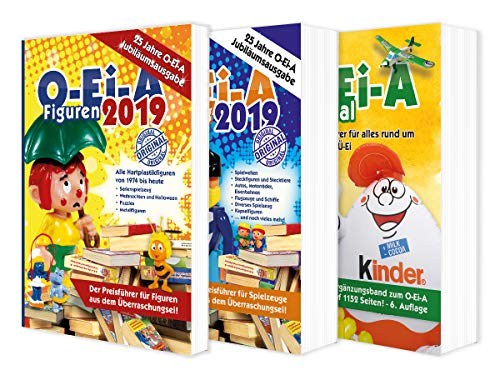 Das O-Ei-A 3er Bundle 2019 - O-Ei-A Figuren, O-Ei-A Spielzeug und O-Ei-A Spezial im 3er-Pack mit rund 9,00 € Preisvorteil gegenüber Einzelkauf!