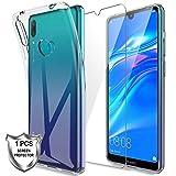 LK Case For Huawei Y7 2019, [Silicone Gel] Soft Flexible