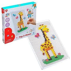PlayGo-Mosaico de 1800 Piezas tamaño A4, (ColorBaby 44908)