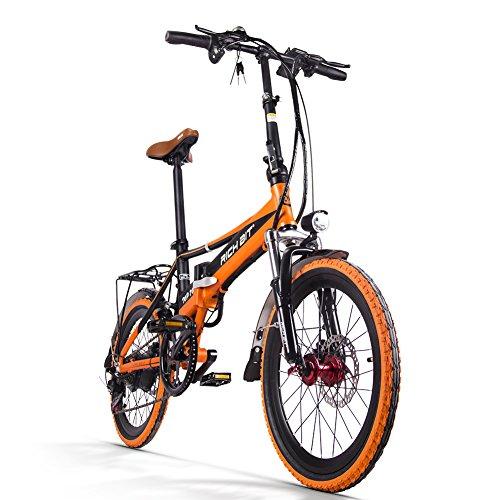 Bicicletta elettrica pieghevole uomo/donna da strada RT700 ...
