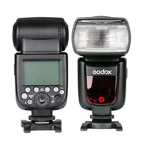 Godox Flash Camera, 2.4GHz ad alta velocità 1 / 8000s GN60 TT685C / N / S / O / F per fotocamera Canon EOS / Nikon DSLR / Sony / Olympus Panasonic / Fujifilm E-TTL II Autoflash (N)