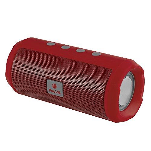 NGS Altavoz Bluetooth Rojo Roller Tumbler - Altavoz