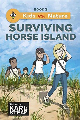 Surviving Horse Island (Kids vs. Nature Book 3) (English Edition)