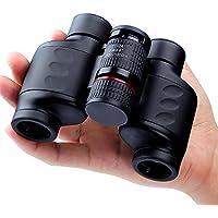 USCAMEL® - Binocoli con zoom HD grandangolare, 10x 24, compatti,