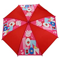 Trade Mark Collections Peppa Pig London Umbrella (Red)
