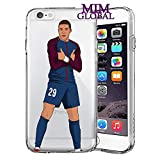 MIM Global Football Soccer iPhone Case - Futball iPhone Hulle/Schalen - Hochste Qualitat - Messi - Ronaldo - Neymar - Pogba - Bale - Suarez (iPhone 5/5s/SE, Mbappe 2)