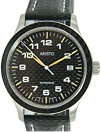 Aristo 7H81 - Reloj para hombres, correa de cuero
