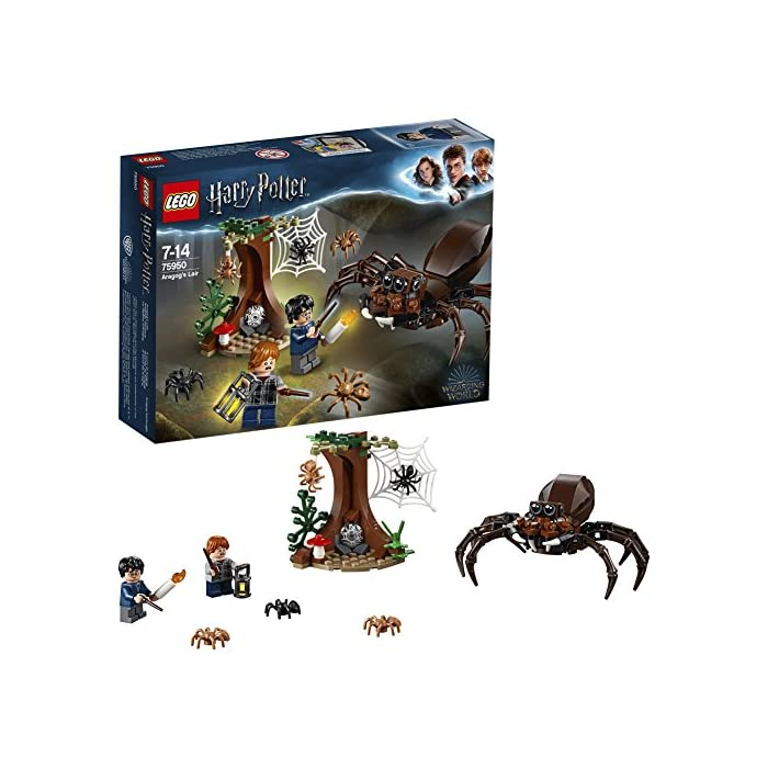 LEGOHarryPotter und die Kammer des Schreckens – Aragogs Versteck (75950) Bauset (157Teile) 1