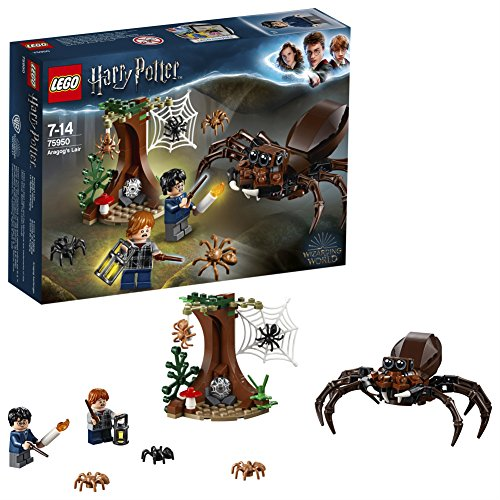 LEGO Harry Potter - Le repaire d'Aragog - 75950 - Jeu de Construction