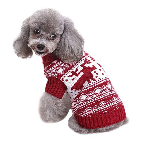 Lustige Weihnachtskostüm - Boodtag Hunde Pullover Weihnachtskostüm für Hund Hautier Doktor Hundebekleidung für Fotografie Weihnachten Coseplay und Party Lustiges Kleid