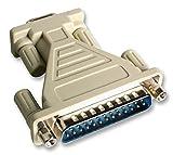 Anschlüsse–D SUBMINIATURE–Adapter 9W D socket-25W D PLUG–1052