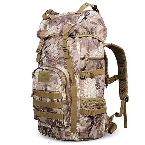 Giow wandertasche Outdoor Camping 55L wandertasche männer und Frauen Reisen große kapazität Rucksack Bergsteigen Tasche (größe: 35 * 24 * 60 cm) wandern rucksäcke (Farbe: G) -