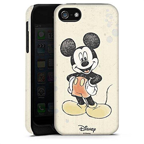 Apple iPhone 6s Silikon Hülle Case Schutzhülle Disney Mickey Mouse Merchandise Geschenke Tough Case matt
