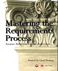 Mastering the Requirements Process by Suzanne Robertson (1999-08-12)