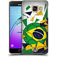 Head Case Designs Brésil Ballon De Football Étui Coque D'Arrière Rigide Pour Samsung Galaxy A3 (2016)