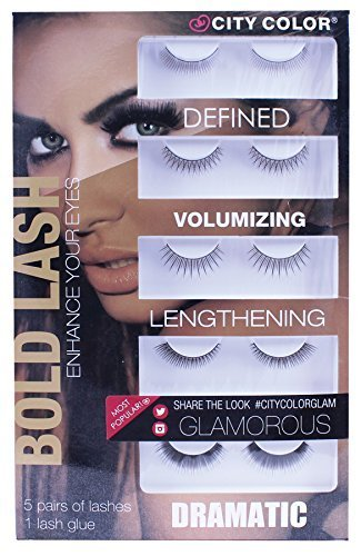 Bold Lash False Eyelash Set --- BUY 1 GET 1 FREE!!!!! by City Color Cosmetics