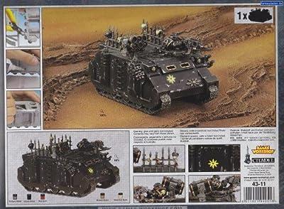 Warhammer 40000 - 1 x Miniature Chaos Rhino - 43-11