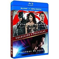 Hombre De Acero + Batman V Superman Blu-Ray [Blu-ray]