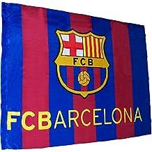FCB FC Barcelona - Bandera f.c. Barcelona (100 x 75 cm.) (Banderas 5e4d515b78c