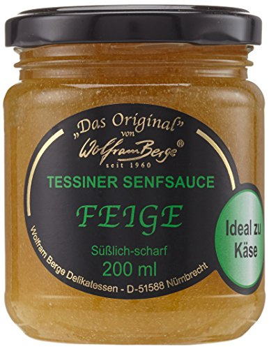 Original Tessiner Feigen-Senfsauce, 200 ml